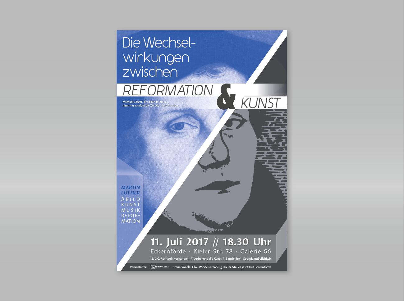 Plakat Design für Reformation & Kunst - Kugler ...